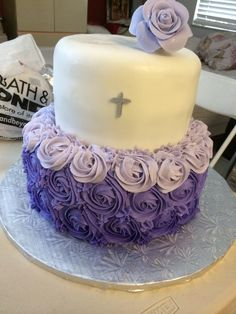 Baptism / Birthday Cake