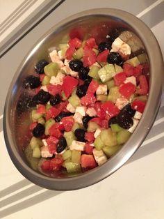 La salade à la grecque