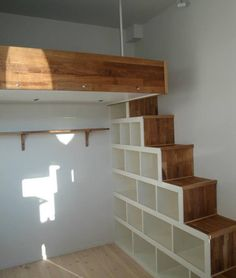 Get a loft solution with a clever step storage!  Choose colors, lighting, safety rails, storage etc. Bespoke finishes, (pine, oak, white, varnished oil, etc) FREE UK deliverywithin 4 weeks Made toorder  Our experienced team will help you. Give us a call on020 3488 0448 or email: martin@scandinavianloft.com