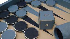 Contemporary Class Backgammon Set