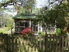 The summer cottage we rented on Ocracoke Island.  Fantastic!