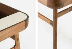 Detail of Harold Desk by Nichetto