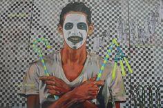 Cosa ami del tuo lavoro?  Sono felice quando finisco il lavoro, ne faccio una foto e vedo la reazione della gente comune per strada. È impressionante, presento cose nuove. La gente comune, le famiglie, guardano al muro della rivoluzione, al giornale della rivoluzione. Per me è incredibile.  Giuseppe Acconcia per #slowwords intervista un giovane graffiti artist egiziano. http://www.slow-words.com/it/ammar-abo-bakr-graffitaro-egiziano/