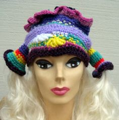 Fun hat to wear with braids.
