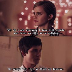 I've never read or seen The Perks of Being a Wallflower but I believe this quote is something extraordinary.