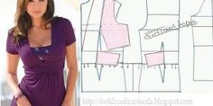 Tremendous Sewing Make Your Own Clothes Ideas. Prodigious Sewing Make Your Own Clothes Ideas. Sewing Patterns Free, Clothing Patterns, Dress Patterns, Free Sewing, Make Your Own Clothes, Diy Clothes, Moda Zara, Sewing Blouses, Diy Tops