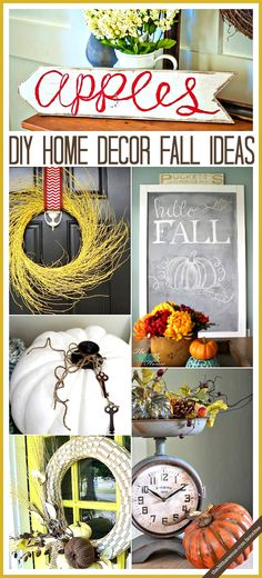 Home Decor - DIY Fall Decor Ideas that you are going to love at the36thavenue.com