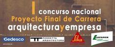1er Concurso Proyecto Final de Carrera Arquitecturayempresa, España