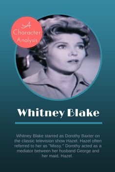 whitney blake photos