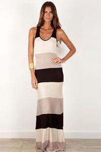 Karina Grimaldi Dakota Combo Dress in Black......not sure which color I like better!!