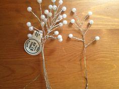 DIY Pearl Babys Breath :  wedding babys breath bouquet centerpieces diy filler flowers flowers handmade paper flowers pearls reception silver white