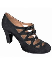 if I didn't already have a gazillion dance heels, I'd get these.
