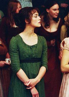 Keira Knightley (Elizabeth Bennet) - Pride & Prejudice (2005) directed by Joe Wrigh