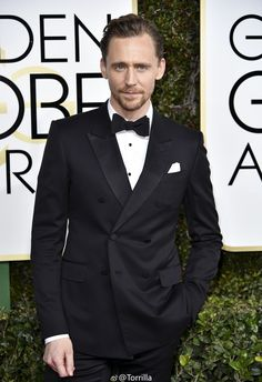 Tom Hiddleston @ 74th Annual Golden Globe Awards, The Beverly Hilton Hotel 8.1.2017 From http://tw.weibo.com/torilla/4061940202225298
