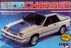 MPC Dodge Shelby Charger box art