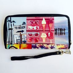Summer love Summer Of Love, Leather Case, Zip Around Wallet, Handmade, Bags, Leather Pencil Case, Handbags, Hand Made, Leather Pouch