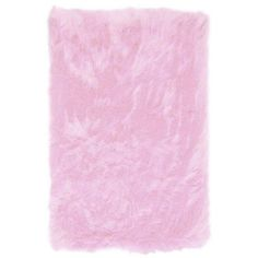 L.A. Rugs Flokati Light Pink Rug - FLK-010-3