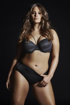 Ashley Graham ICON T-SHIRT BRA WITH HIGH CUT PANTY. Turn up the heat in this t-shirt bra with sass!