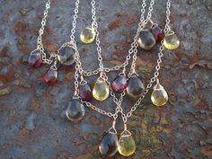 It's Elemental ~ Healing Gemstone Jewelry based on the 5 Vedic Elements Earth - Prosperity, Grounding, Balance, Peace