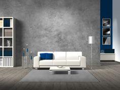 5 pomysłów na beton w salonie  - zdjęcie numer 4
