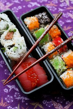 Sushi Bento by Tami_Moore, via Flickr
