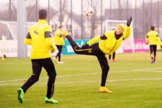 Borussia Dortmund training heute! ♥ #erikdurm