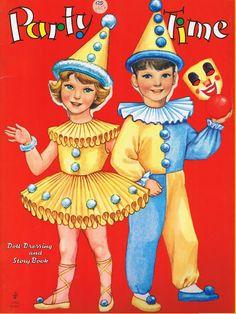 Party Time Paper Dolls - MaryAnn - Picasa Albums Web