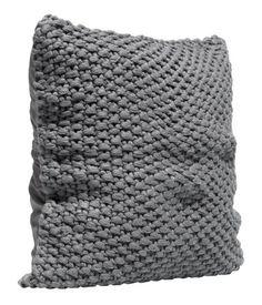 Gebreide kussenhoes, match met plaid | H&M NL