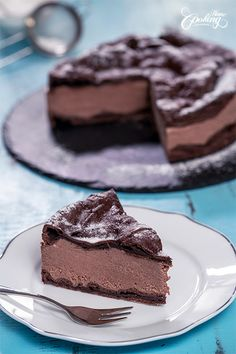 Chocolate Eclair Cake - Chocolate Karpatka :: Home Cooking Adventure Chocolate Eclair Cake, Chocolate Pastry, Chocolate Sweets, Chocolate Filling, Chocolate Recipes, Baking Recipes, Cake Recipes, Dessert Recipes, Nutella