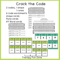 Therapy Fun Zone: Crack the Code Visual and Writing Activity. Pinned by SOS Inc. Resources. Follow all our boards at pinterest.com/sostherapy/ for therapy resources.