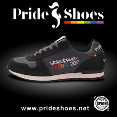 Official World Pride Madrid Pride Shoes trainers. Made in Spain