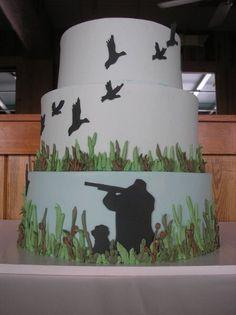 b89791c1e34 Boy Duck Hunting Birthday Cake- Occasion Cakes