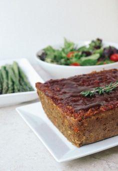 Linzenloaf: groentebrood! Lekker en gezond.