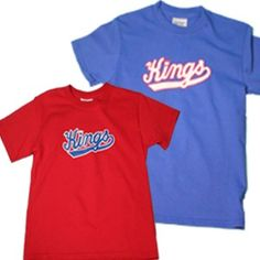 Sacramento Kings Youth Retro Essential T-Shirt features a solid color 100% cotton preshrunk t-shirt with a screen print retro graphic across the front chest.