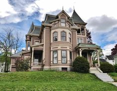 Your realtor& here, ready to go? Gothic Architecture Drawing, Victorian Architecture, Interior Architecture, Die Renaissance, Tim Beta, Second Empire, Up House, Old House Dreams, Beautiful Buildings