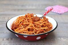 Spaghettis Bolognese | Papilles & Pupilles