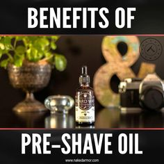 Pre-shave oil has many benefits and is an excellent addition to your shaving routine because it also moisturizes the skin deeply, ensuring a closer shave while preventing irritation and ingrown hairs. Learn more about the benefits of pre-shave oil at www.nakedarmor.com #nakedarmor #straightrazor #wetshaving #shavingtips #essentialoil #preshaveoil Shaving Tips, Wet Shaving, Ingrown Hairs, Pre Shave, Close Shave, Straight Razor, Beard Care, Closer, Benefit