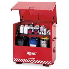 02ca485e7c Van Vault Fire Store Job Site Security Box - Dimensions 1282 x 735 x 1220mm