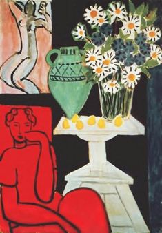 Henri Matisse, The Daisies on ArtStack #henri-matisse #art