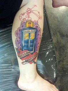 Doctor Who Tattoo (not mine, lol)