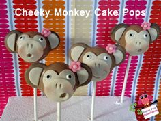 Cheeky Monkey Cake Ball Tutorial