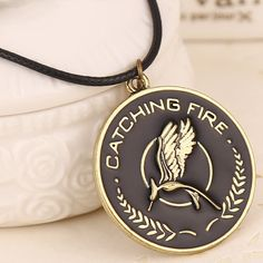 The Hunger Games Mockingbird Pendant Necklace
