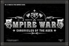 The Empire Wars (family font) from FontBundles.net