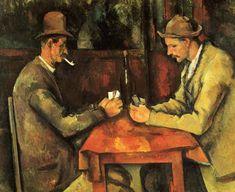 Cezanne. Le Jour De Cartes. Musee d'Orsay.