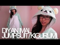 EXPAND for more details! LIKE + SUB for more videos!!    ○ - - - - • ☆ ○ ☆ • - - - - ○    IT'S FINALLY HERE! A DIY tutorial on how I made my animal costume / kigurumi! Except this time it's rilakkuma bear, not a panda one. But no worries, my lovelies! I did go over on how to go about with the panda one :)    ...FYI, I lost my panda suit. I don't know ...