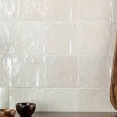 Ivy Hill Tile Amagansett x Ceramic Field Tile Color: Cream Ceramic Subway Tile, Subway Tiles, Stone Mosaic Tile, Mosaic Glass, Marble Mosaic, Mosaic Wall, Straight Edge, Thrifty Decor Chick, Tiles For Sale