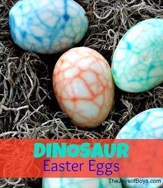 Easter Dinosaur Eggs