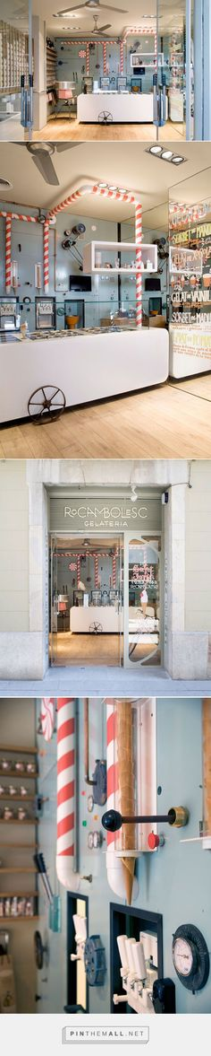 Glamshops visual merchandising & shop reviews - Rocambolesc Cafe Spain by Sandra Tarruella... - a grouped images picture - Pin Them All