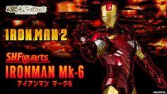 ToyzMag.com » SHFiguarts Iron Man Mark VI – Les image officielles