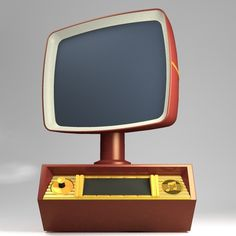 """TELEVISION = The """"future"""" according to the 1950's _-=-_ Where did we go wrong ?? Where is my Flying Car ? Where is my personal Robot?  !!"""